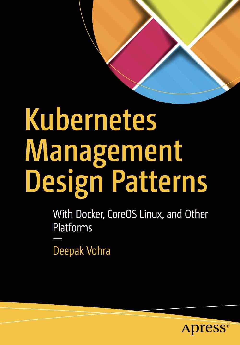 kubernetes management design patterns 书籍封面