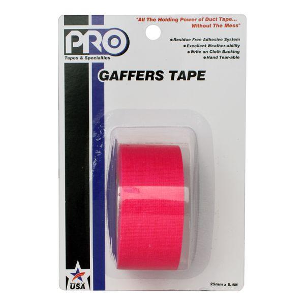 PRO GAFF 2 X 6YARDS POCKET TAPE - FL PINK