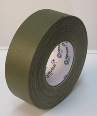 PROGAFF Pro Gaffer Tape - GAFF - 2 x 55yds OLIVE DRAP / OLIVE GREEN