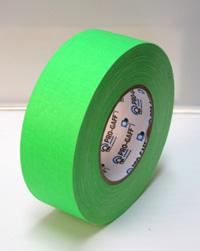 ProGaff GAFFER TAPE - FLUORESCENT-  Neon  Green  - 2  x 50yds