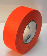ProGaff GAFFER TAPE - FLUORESCENT-  Neon Orange - 2  x 50yds