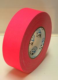 ProGaff GAFFER TAPE - FLUORESCENT-  Neon Pink - 2  x 50yds
