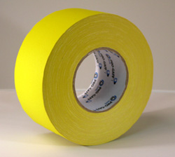PROGAFF Pro Gaffer Tape - GAFF - 3 x 55yds Yellow