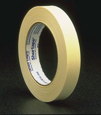 "Pro Mask Masking Tape 1/2"" x 60 yds Tan 72 Rolls"