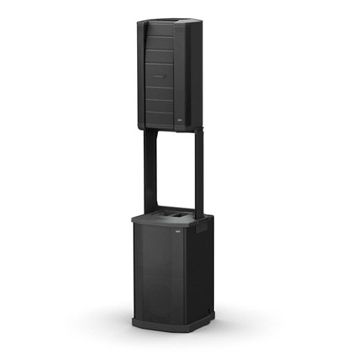 BOSE F1 MODEL 812 LOUDSPEAKER WITH F1 SUB SOUND SYSTEM - SINGLE COMPLETE SYSTEM