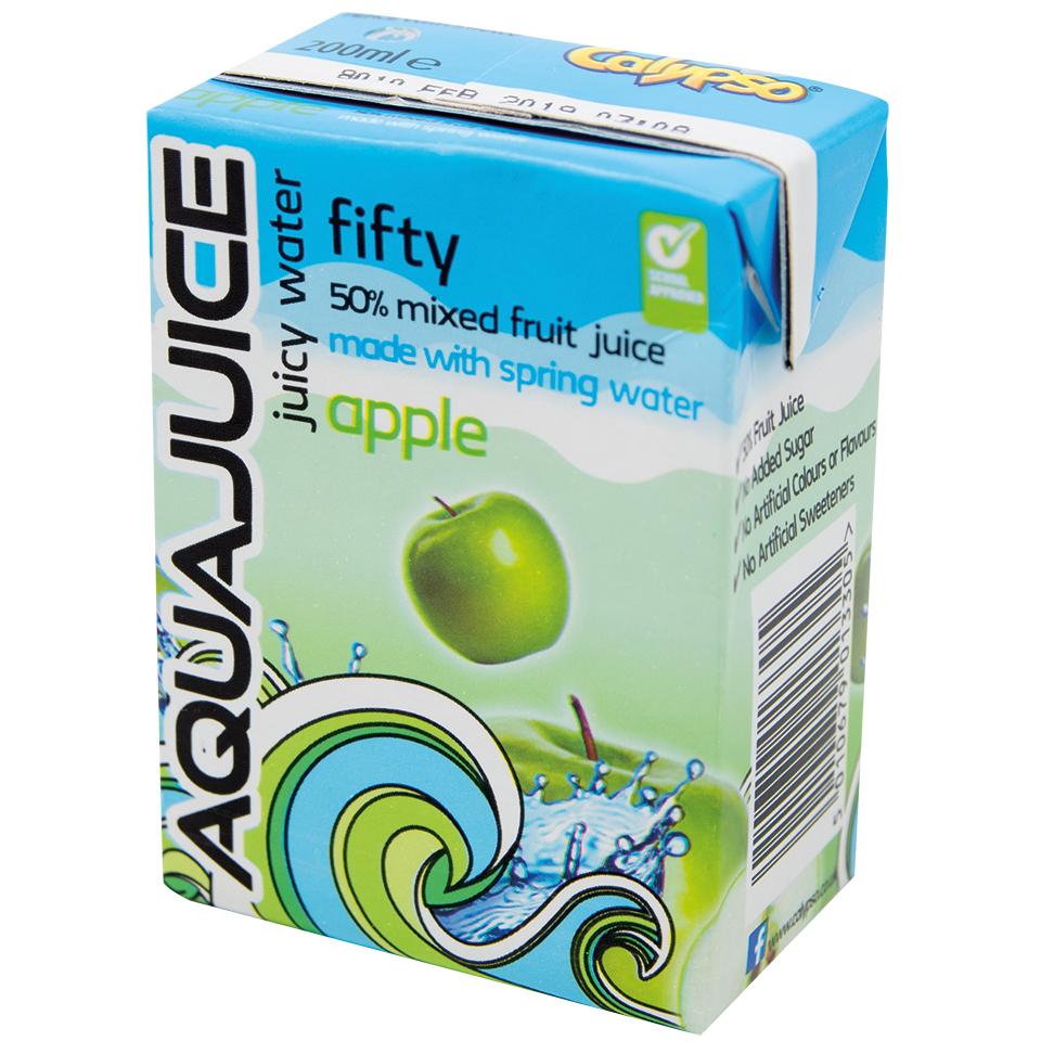 Calypso-Aquajuice-67-Apple-27x200ml - Enfield Branch - JJ Food ...