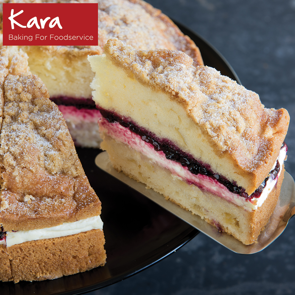 Blackcurrant cake: tasty and fast 48