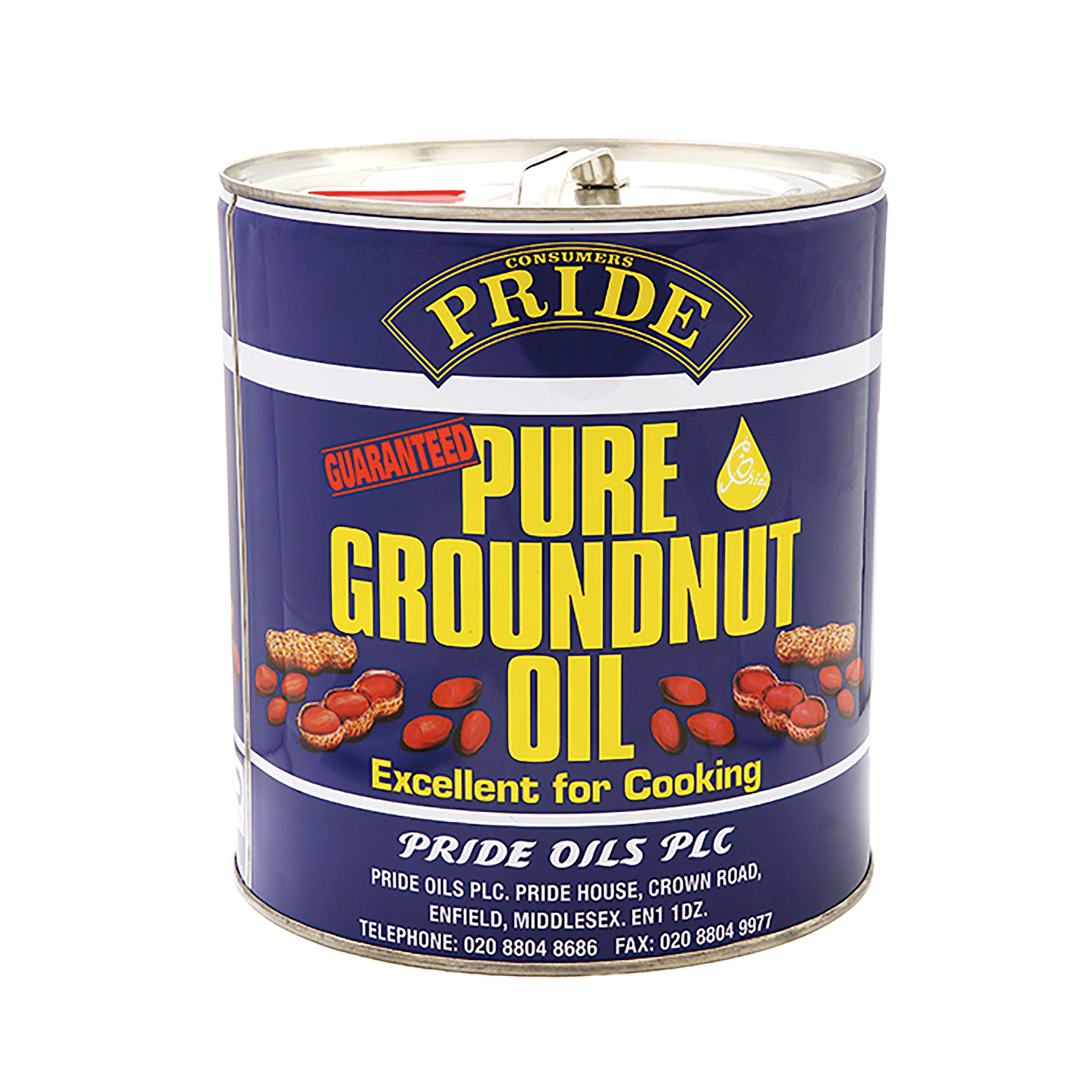Pride-Pure-Groundnut-Oil-1x15L - Manchester Branch - JJ Food Service