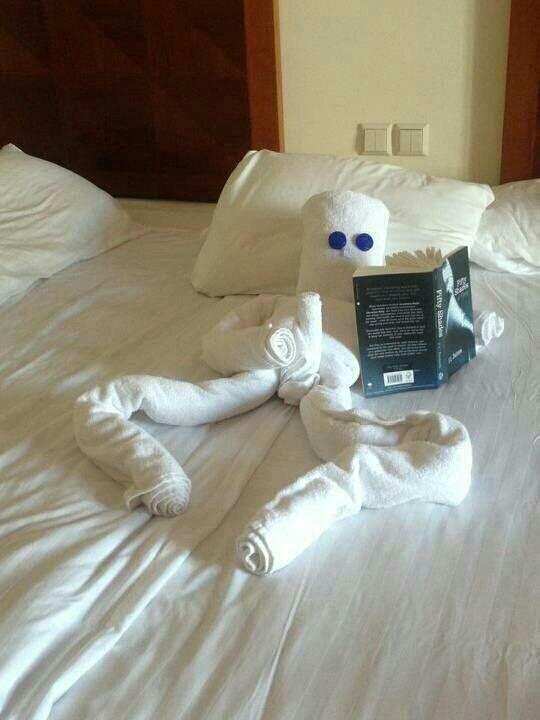 Cuando me voy del hotel...