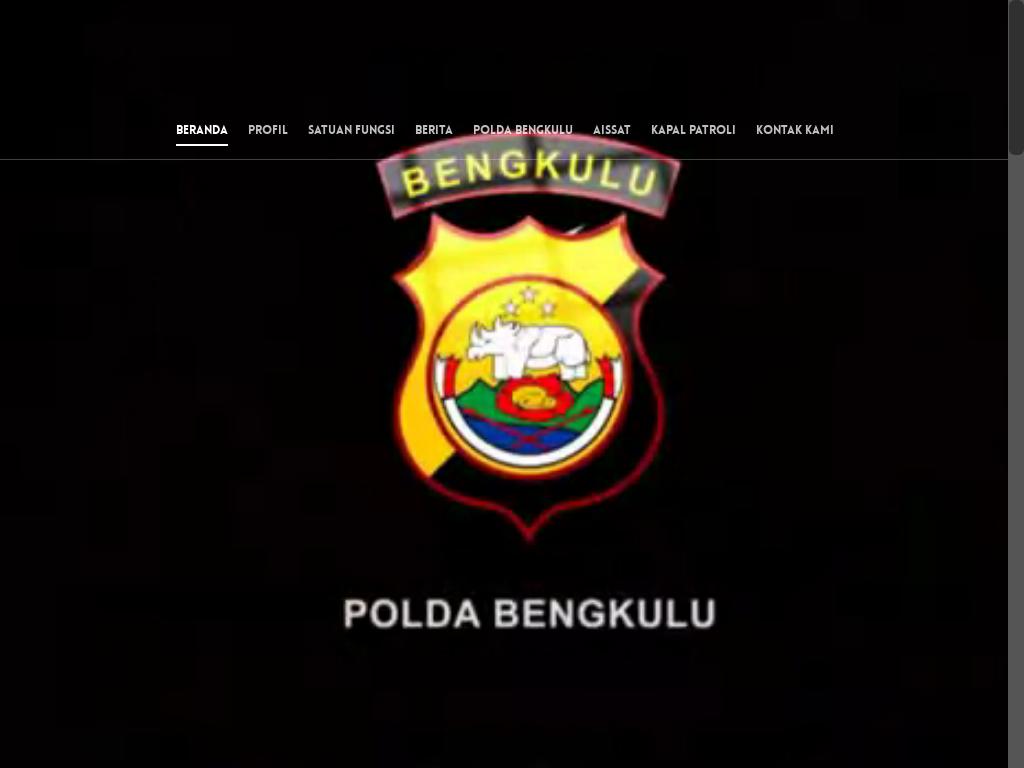 Polair Polda Bengkulu