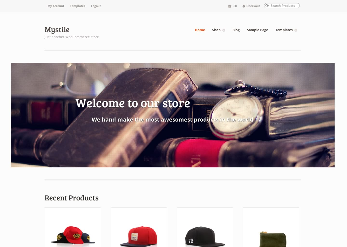 mystyle - large and classic estore theme