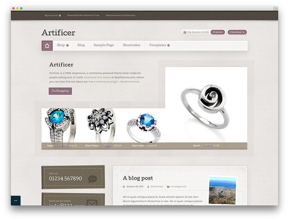 artificer - vintage jewelry store