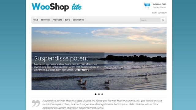 wooshoplite - classic ecommerce site template