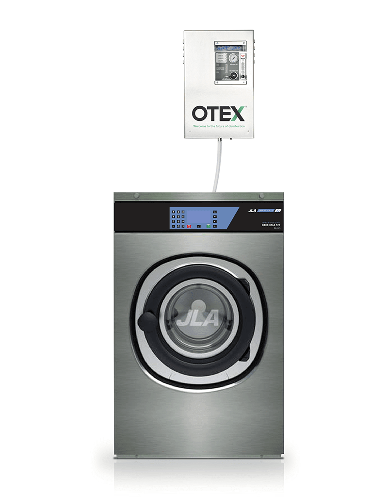 Commercial laundry equipment: OTEX ozone laundry system