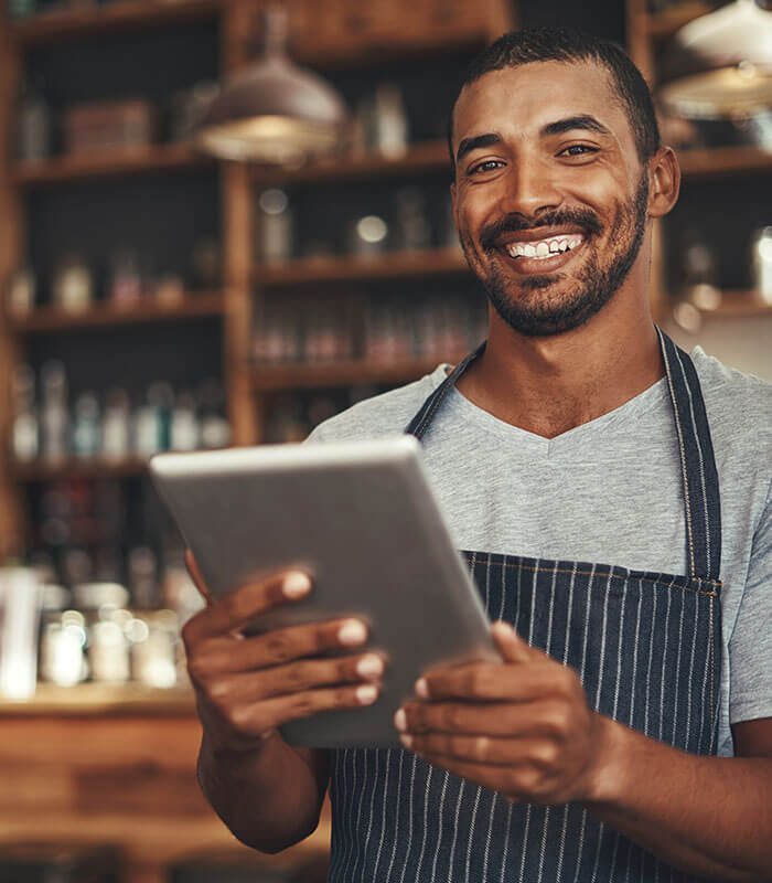 Peace of mind for the restaurant owner with Total Care