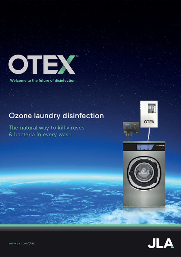 Download our OTEX laundry disinfection brochure