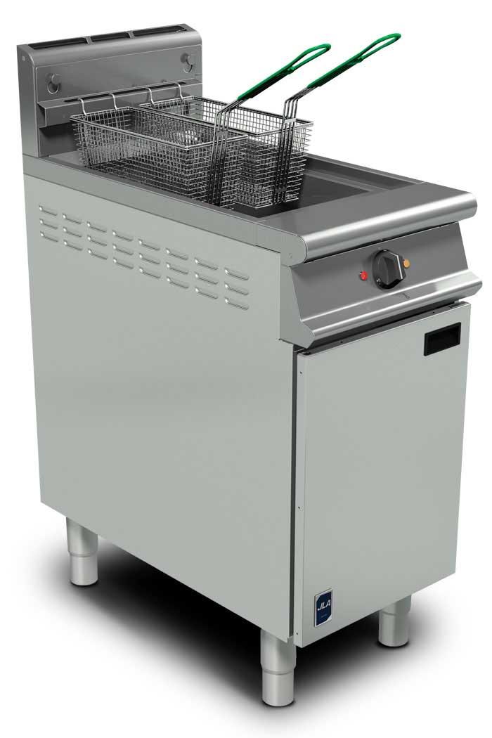 JLA Gas Twin-Basket Floor Fryer