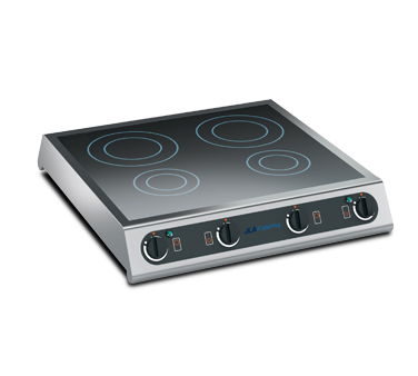 Four-Ring Induction Hob