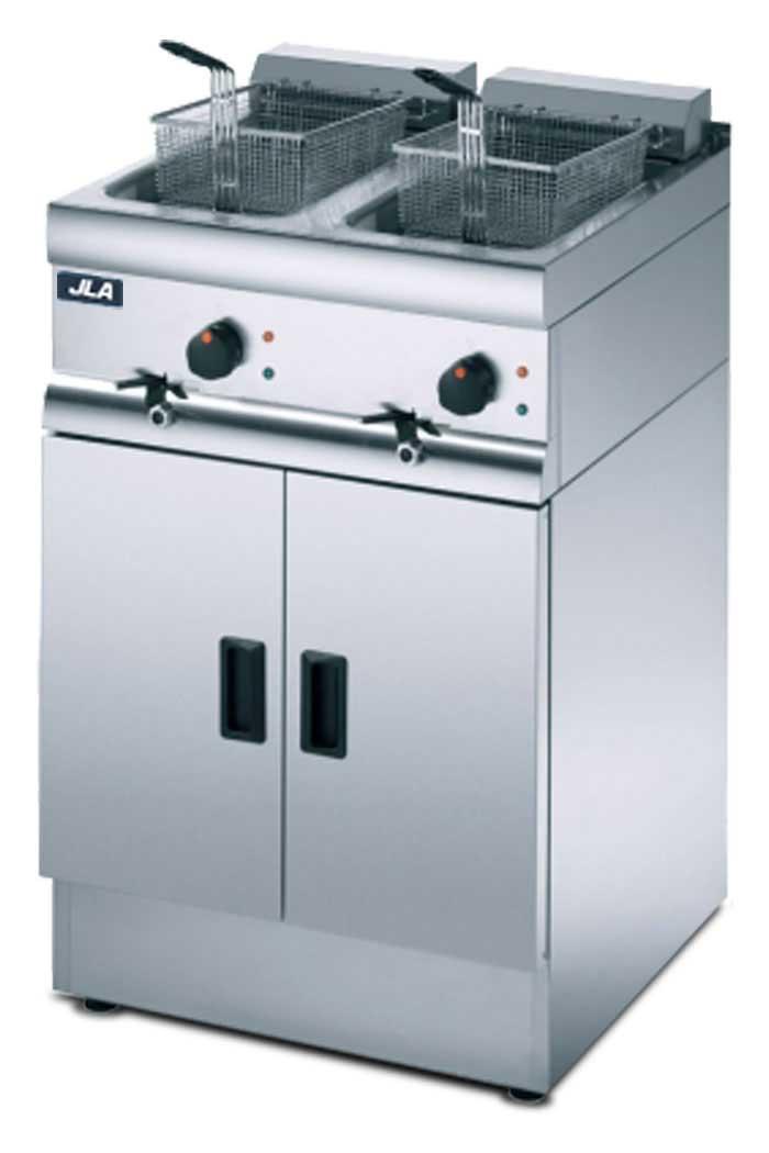 JLA Medium-Duty Twin-Tank Electric Fryer