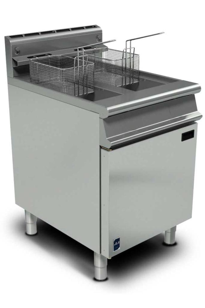 JLA Gas Twin-Tank Floor Fryer