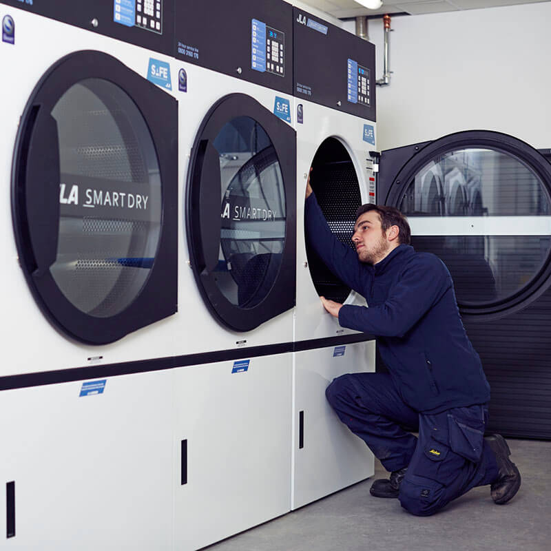 Dryer servicing