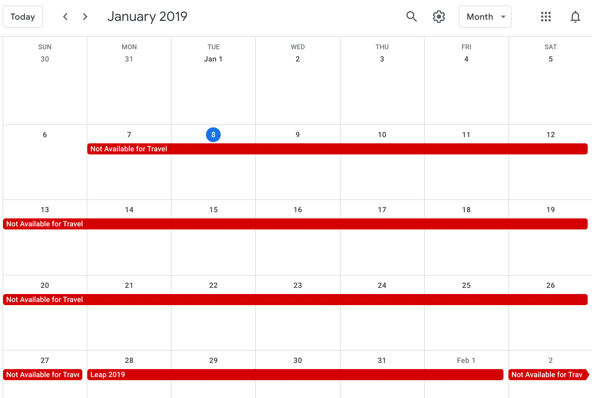 How I set up a public Google Calendar and enabled auto-sync to an Office365 calendar in 3 steps