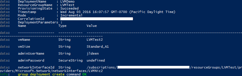 HOW TO: DEPLOY A LINUX AZURE VM FROM CLONED TEMPLATE USING AZURE CLI (PART 2)