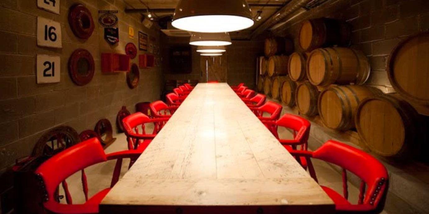 Gusto 101 dining room, Toronto.