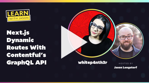 Next.js Dynamic Routes With Contentful's GraphQL API (with whitep4nth3r)