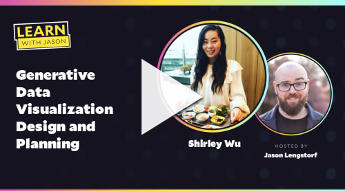 Generative Data Visualization Design and Planning (with Shirley Wu)