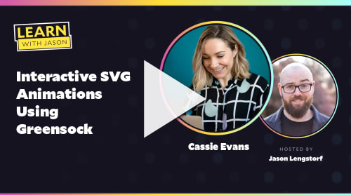 Interactive SVG Animations Using Greensock  (with Cassie Evans)