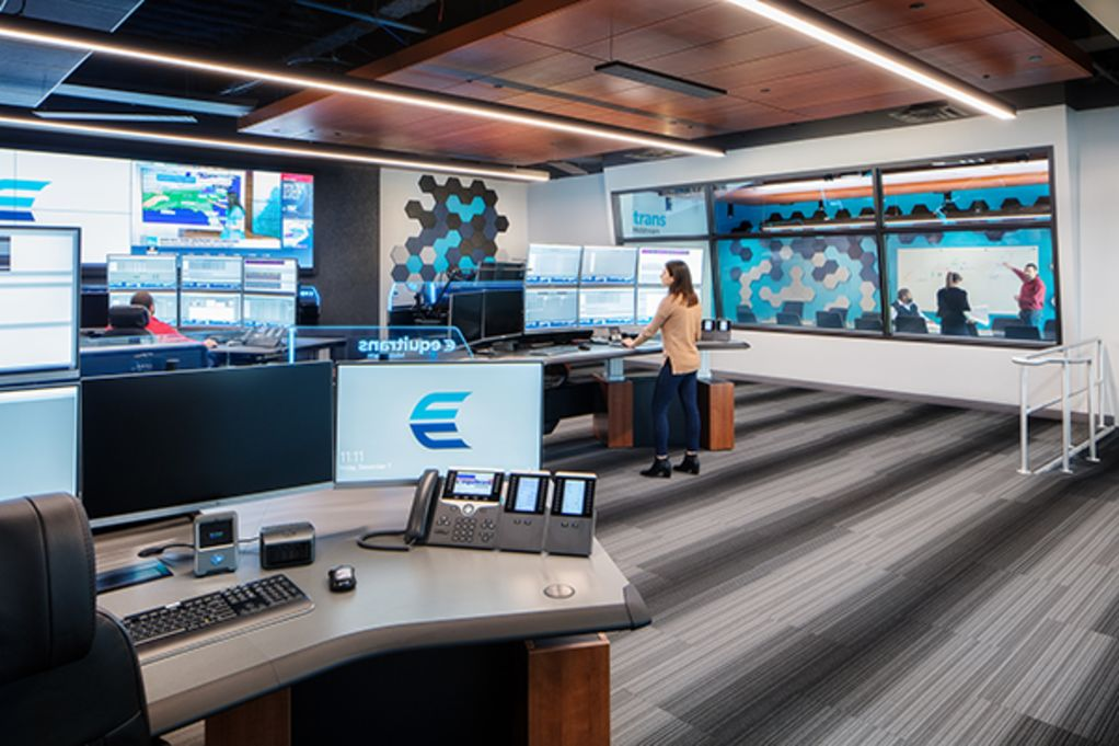 Equitrans Gas Control Room