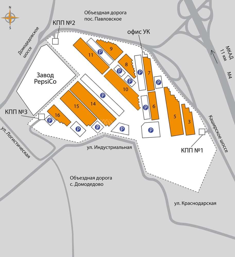 Складская недвижимость Домодедово,  - МЛП Северное Домодедово