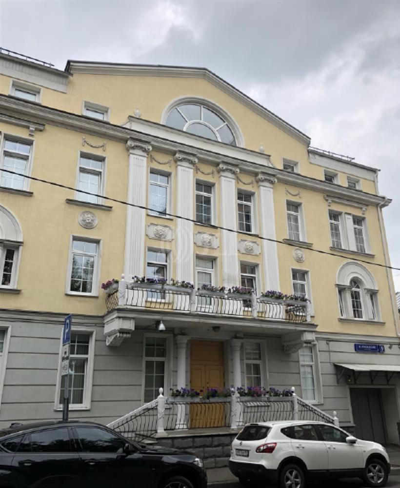 Офисная недвижимость Москва - Мал. Власьевский пер. 9