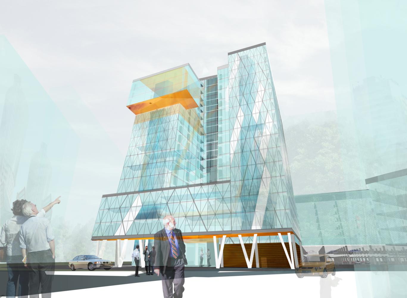Офисная недвижимость Москва,  - Avia Park Crystal