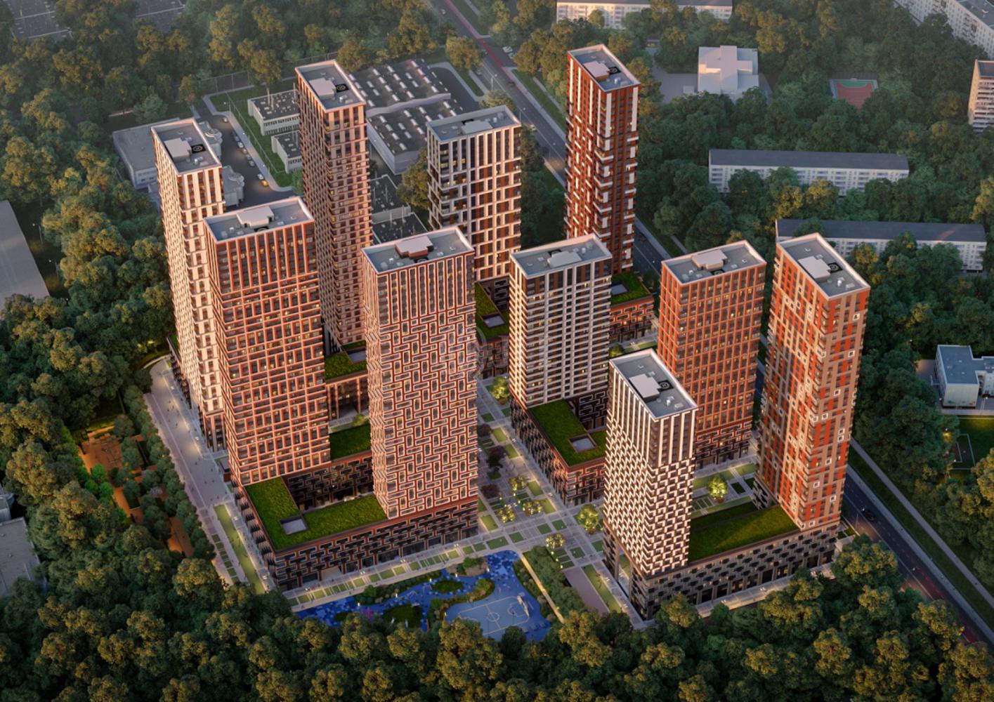 Офисная недвижимость Москва,  - Level Амурская ЖК
