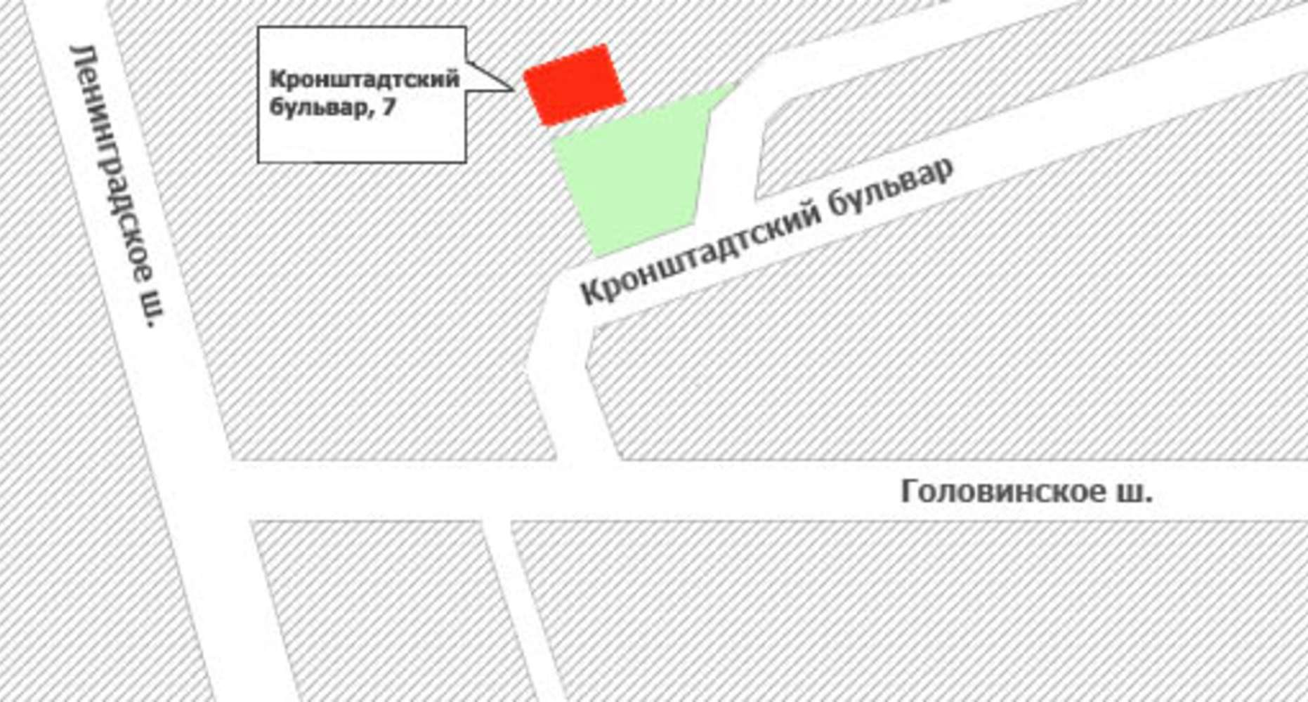 Офисная недвижимость Москва,  - Кронштадский б-р 7