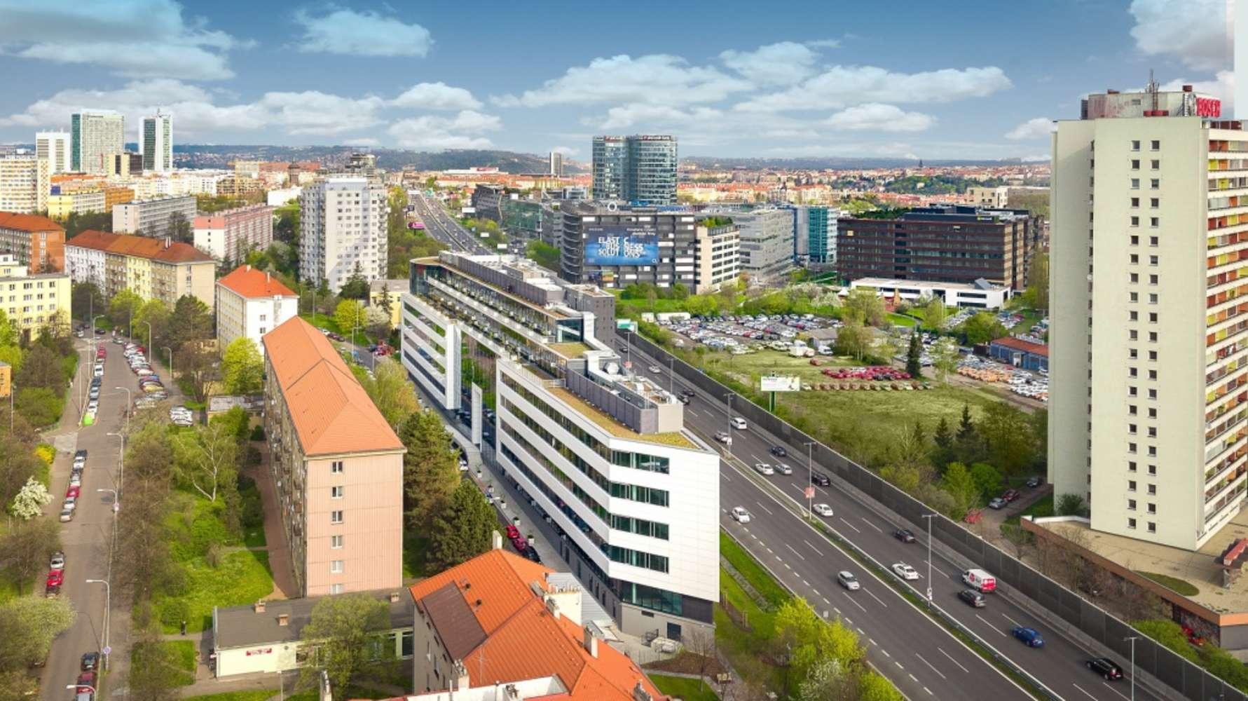 Kanceláře Praha, 140 00 - The Greenline Kačerov