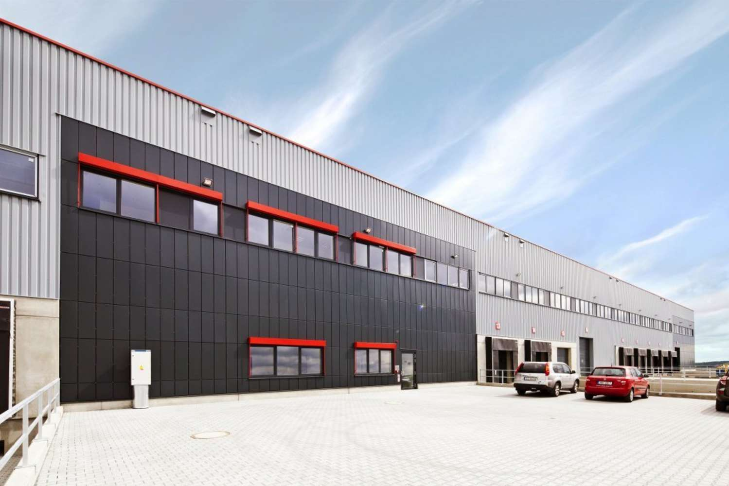 Industrial and logistics Hostivice,  - SEGRO Logistics Park Prague