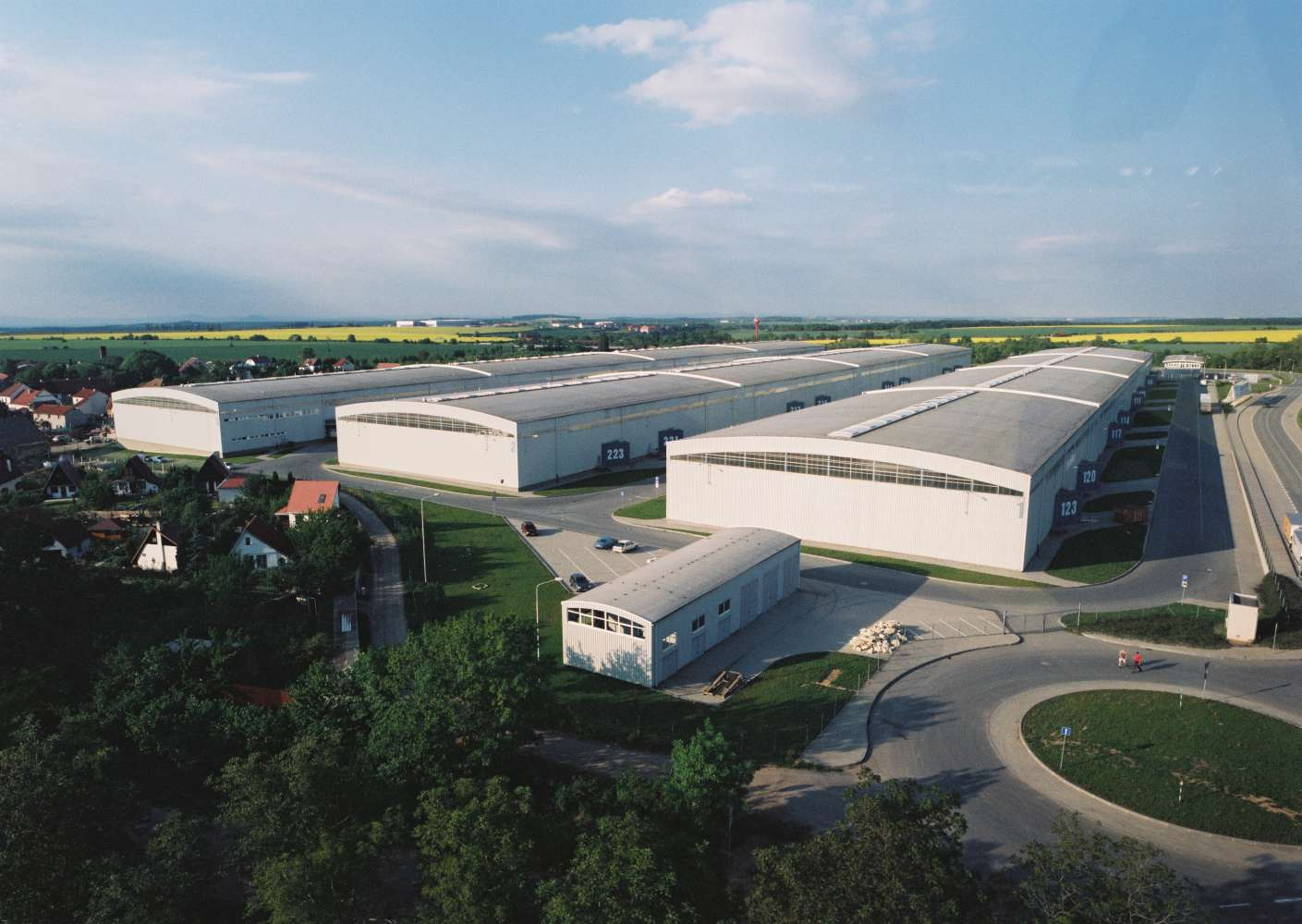 Industrial and logistics Knezeves,  - CTPark Prague Airport
