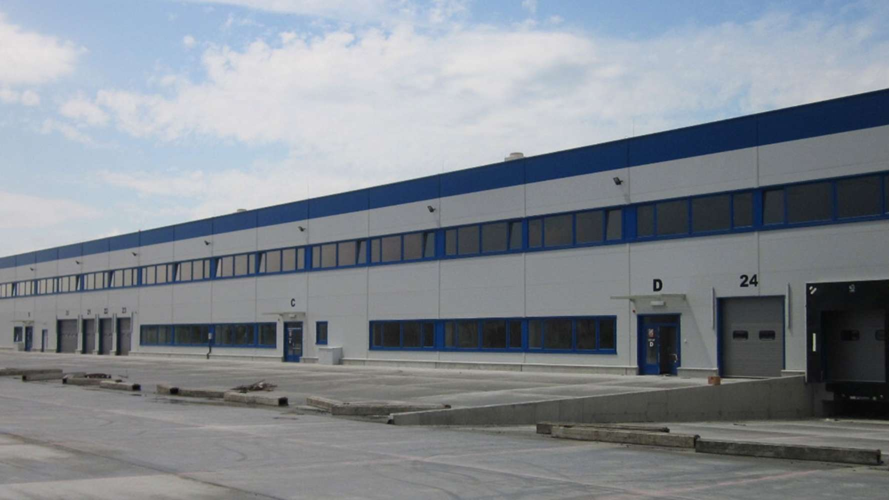 Industrial and logistics Mosnov,  - Vector Parks Ostrava