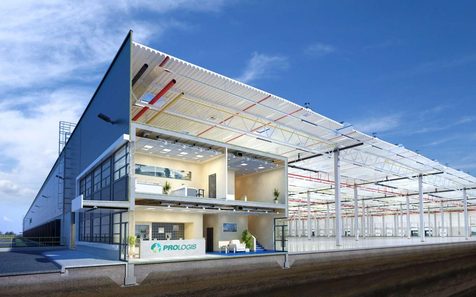 Industrial and logistics Jenec - pavlov,  - Prologis Park Prague Airport