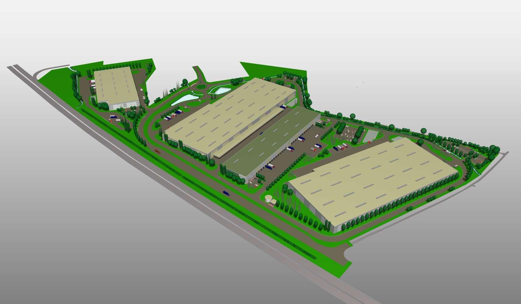 Industrial and logistics Kosmonosy,  - D+D Park Kosmonosy