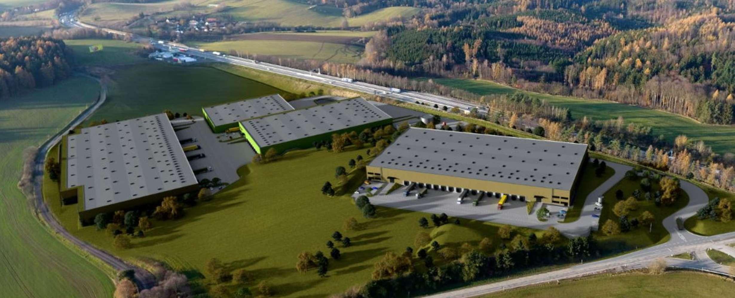 Industrial and logistics Ostredek, 257 24 - Sázava Logistics Park