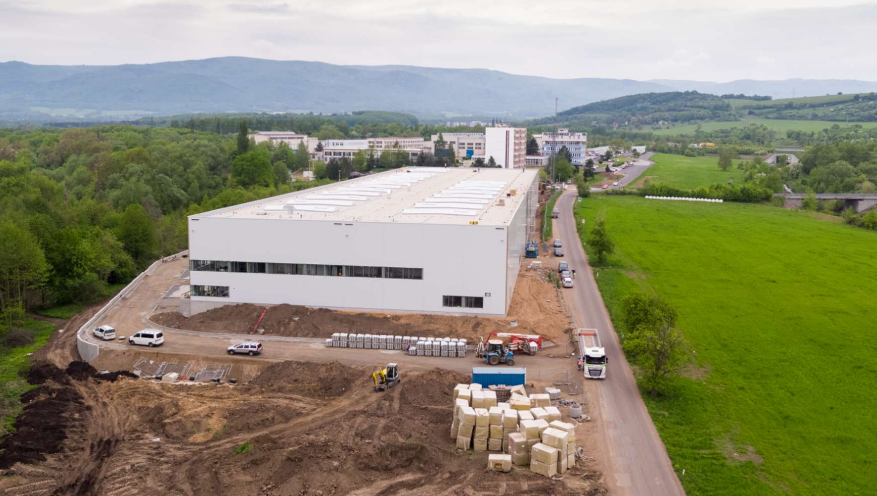 Industrial and logistics Usti nad labem,  - CTPark Ústí nad Labem