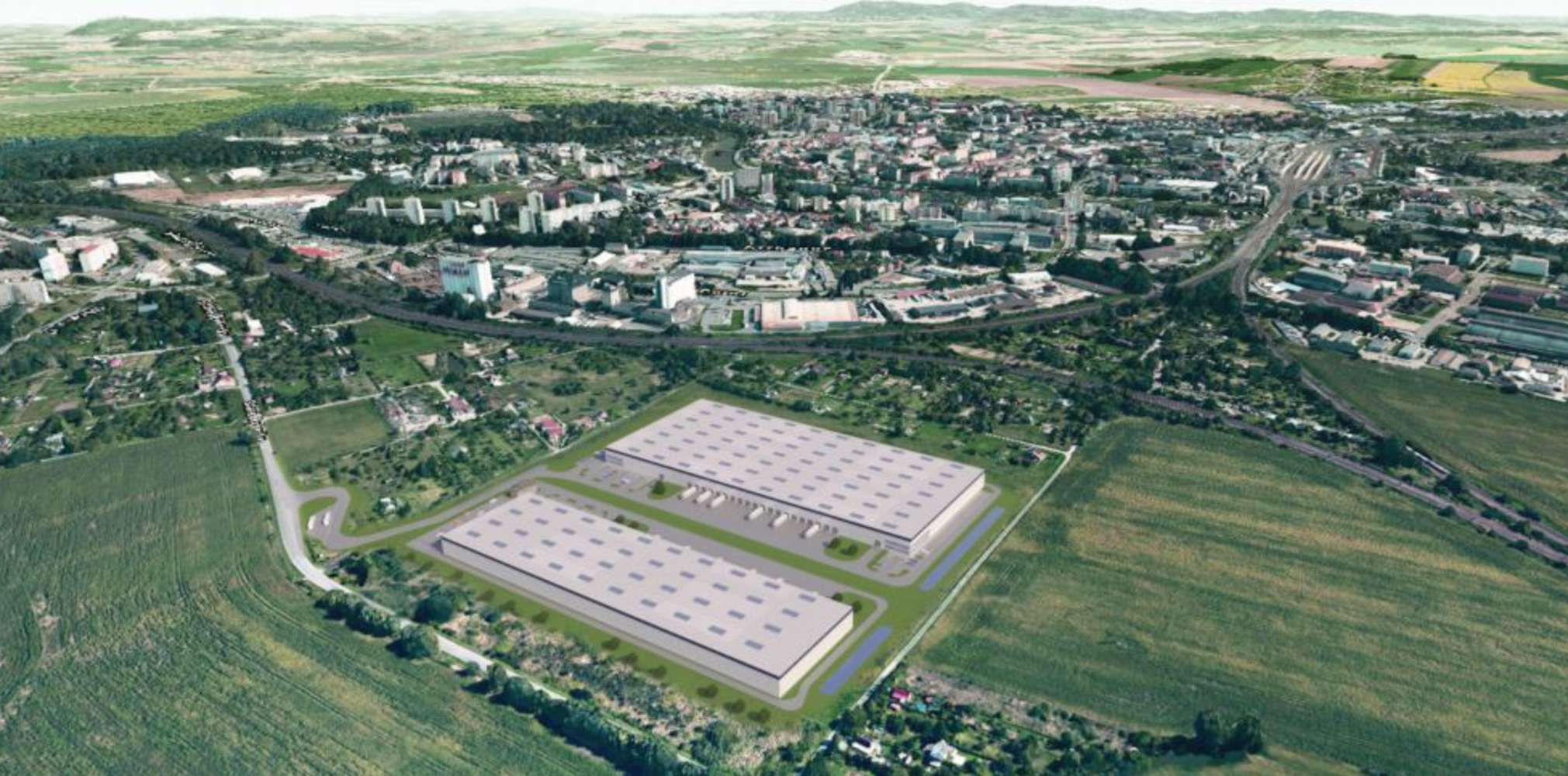 Industrial and logistics Prerov,  - Panattoni Park Přerov