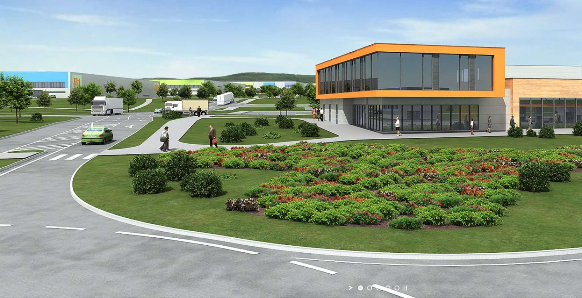 Industrial and logistics Chomutov,  - Centrepoint Verne Industrial Park