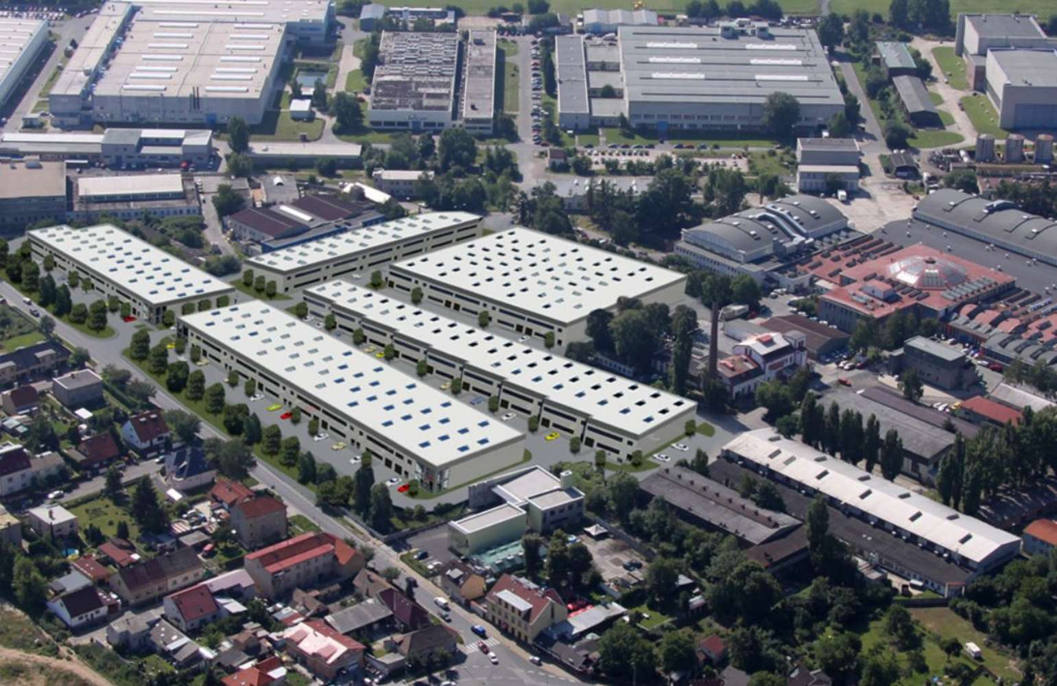Industrial and logistics Prague,  - Letňany Business Park