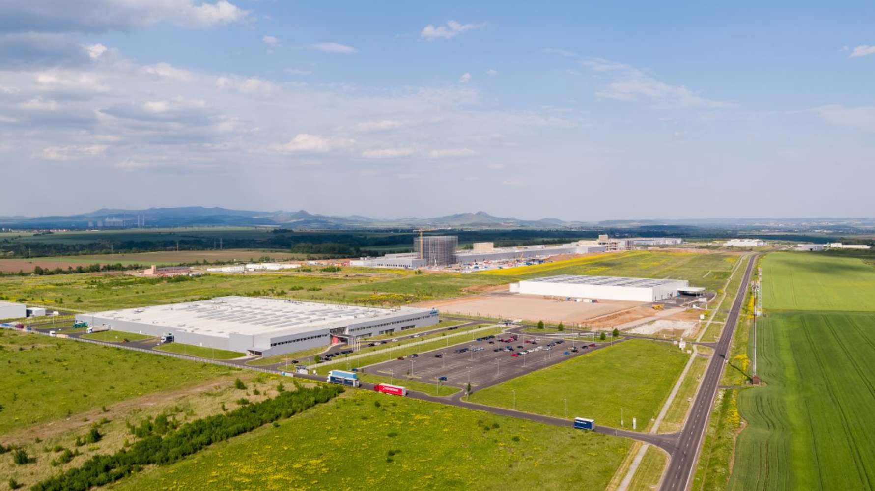 Industrial and logistics Zatec, 438 01 - CTPark Žatec