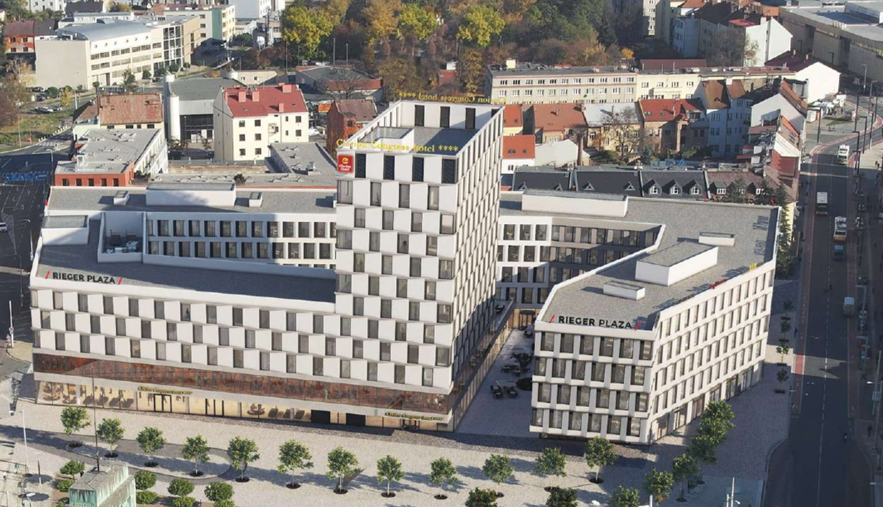 Offices Hradec kralove, 500 02 - Rieger Plaza - Building C